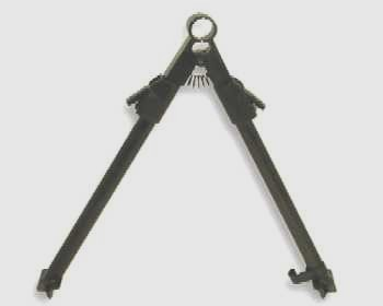 NCstar Removable Barrel-Clamp Steel Bipod