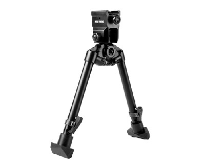 NCstar Quick Release Weaver Mount Bipod w/Barrel Clamp adapter