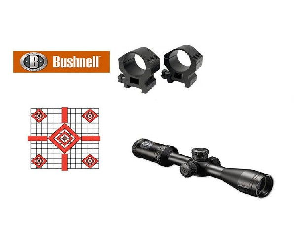Bushnell AR 3-9x40, Drop Zone 223BDC Kit, Side Parallax