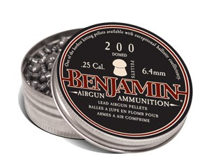 Benjamin Domed .25 Pellets