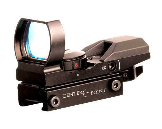CenterPoint Optics Heads-Up 4-Reticle Reflex Sight, Weaver Mount