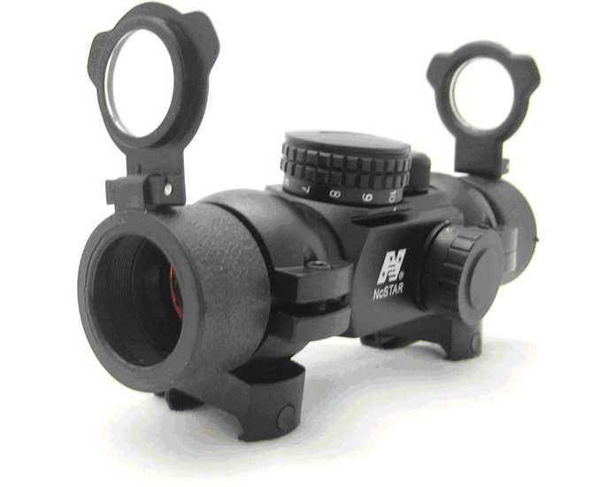 NcStar Red Dot Sight with 4 different reticles (Weaver Mount)