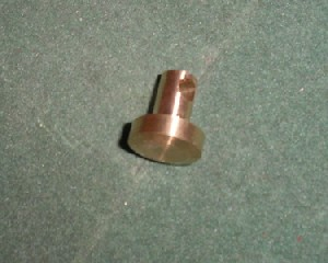 Brass End Plug for Crosman Steel Breech