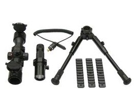 Crosman Special Ops Tactical Kit, Red Dot. Flashlight, Bipod