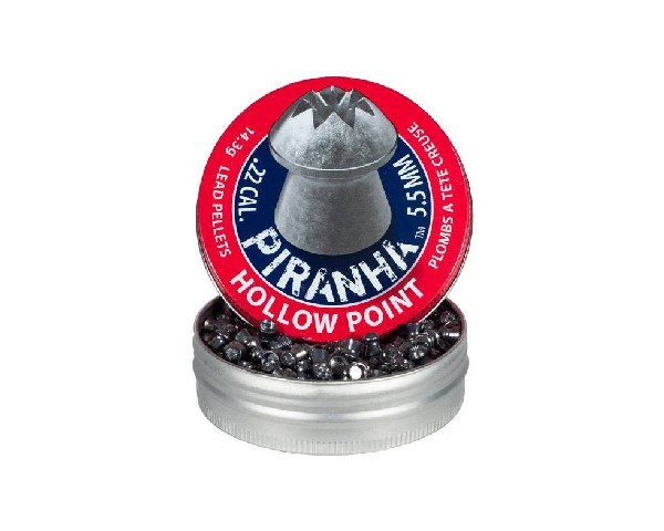 Crosman Premier .22cal Piranha Hollowpoint Pellets