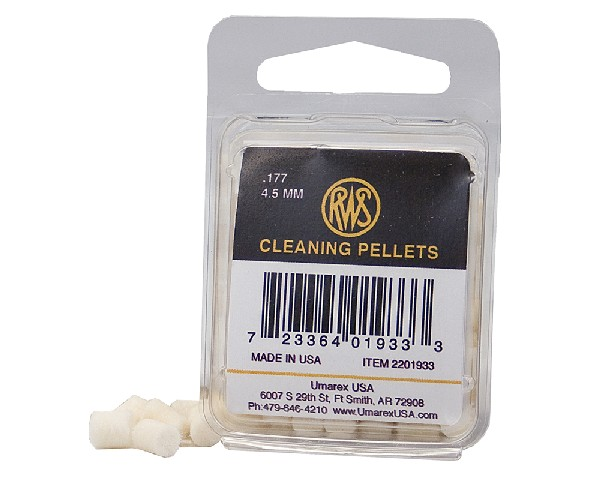RWS .177 caliber Cleaning Pellets