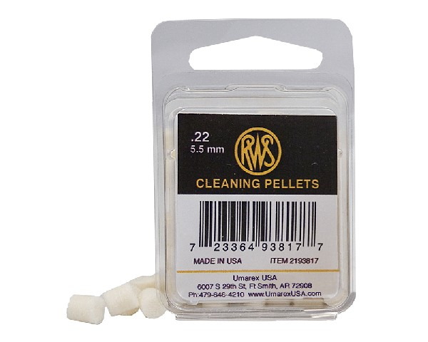 RWS .22 caliber Cleaning Pellets