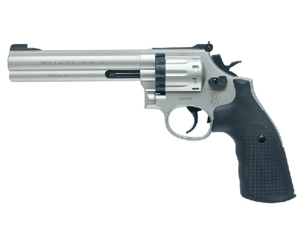 Smith & Wesson 686 Revolver, Nickel