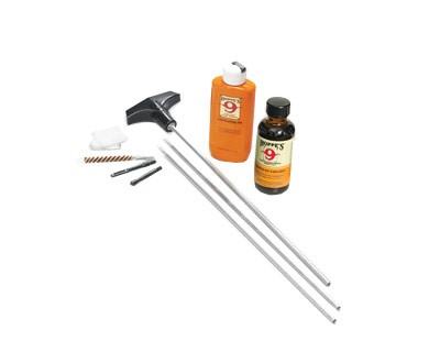 Hoppe's .177 & .22 caliber Rifle Cleaning Kit with Aluminum Rods