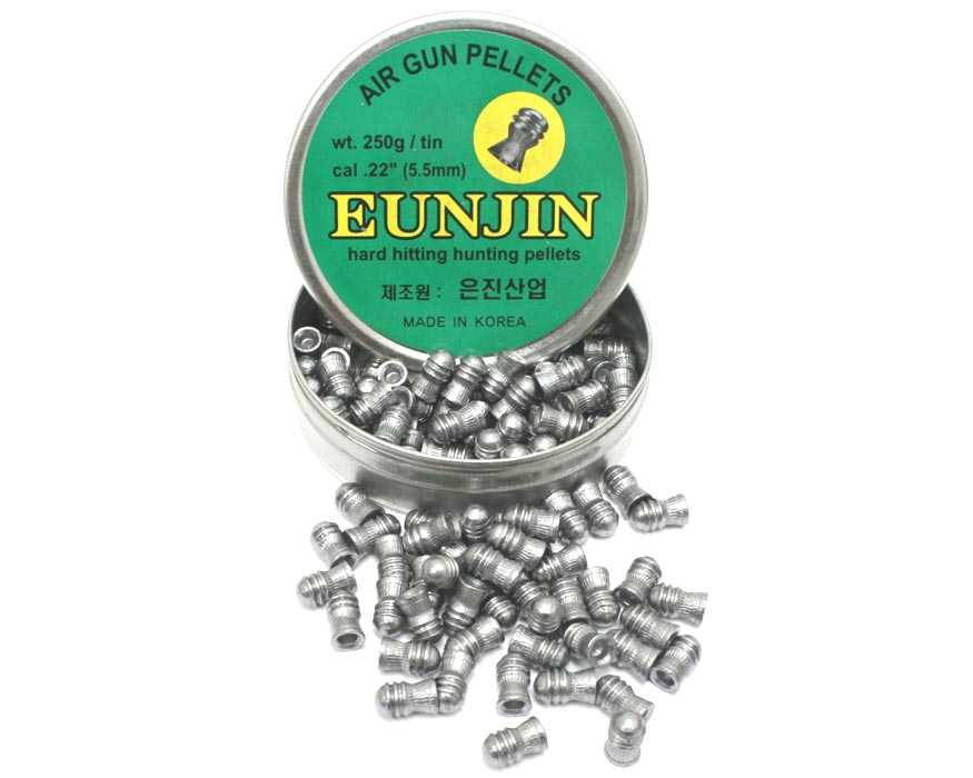 EunJin Heavyweight .177 caliber 16.1gr Domed Pellets