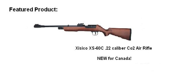 Xisico XS60C Airgun for Canada