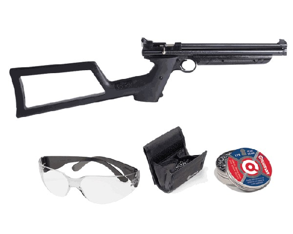 Crosman 1322 Premier Shooters Kit