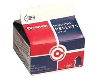 Crosman Bulk .177cal Pointed Pellets