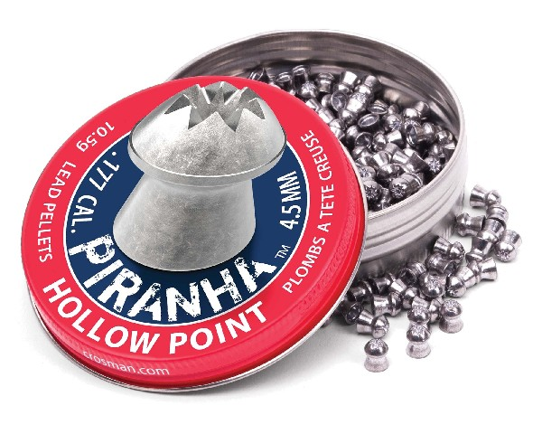 Crosman Premier .177cal Piranha Hollowpoint Pellets